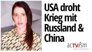 """Abby Martin: Afghanistan-Söldner-Schock & US sagt Atomkrieg sei eine """"sehr reale Möglichkeit"""""""