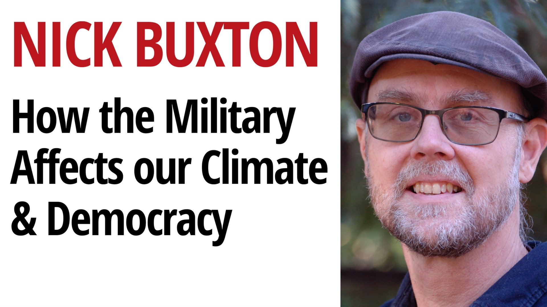 The Issue Ignored by the Media: How the Military Affects our Climate & Democracy