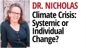 Do we need Systemic or Individual Changes to address the Climate Crisis?