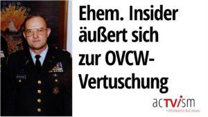 Bei der UNO ruft ein ehemaliger Insider der Bush-Regierung die OVCW-Vertuschung auf