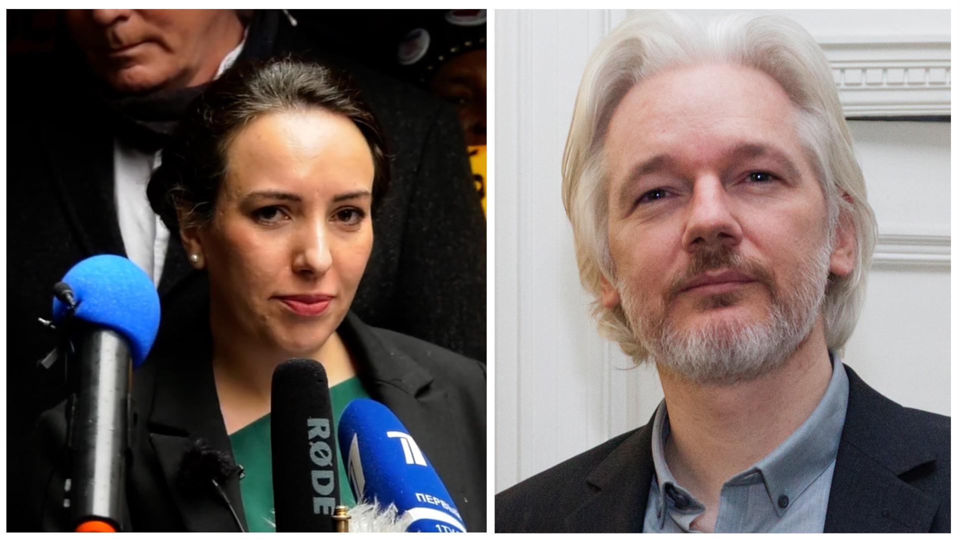 Assange's Verlobte spricht auf dem Int. Symposium der Parlamentarier zum Fall Assange