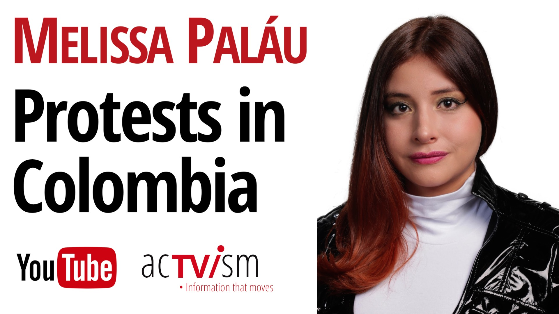 """Protester in Colombia: """"We are finally raising our voices"""""""