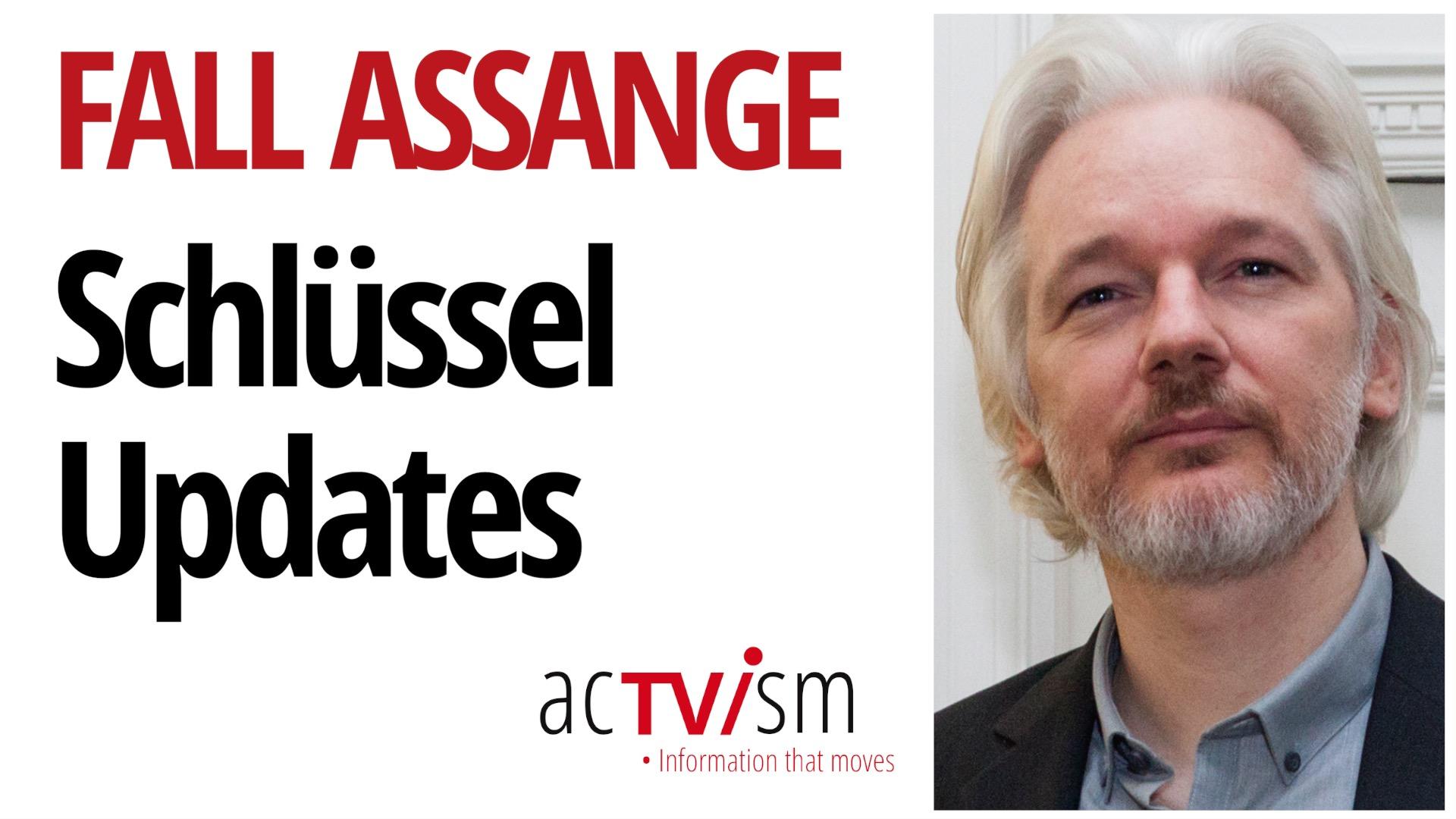 Schlüssel-Updates im Fall Assange - US-Berufung & die Lüge des Star-Zeugen
