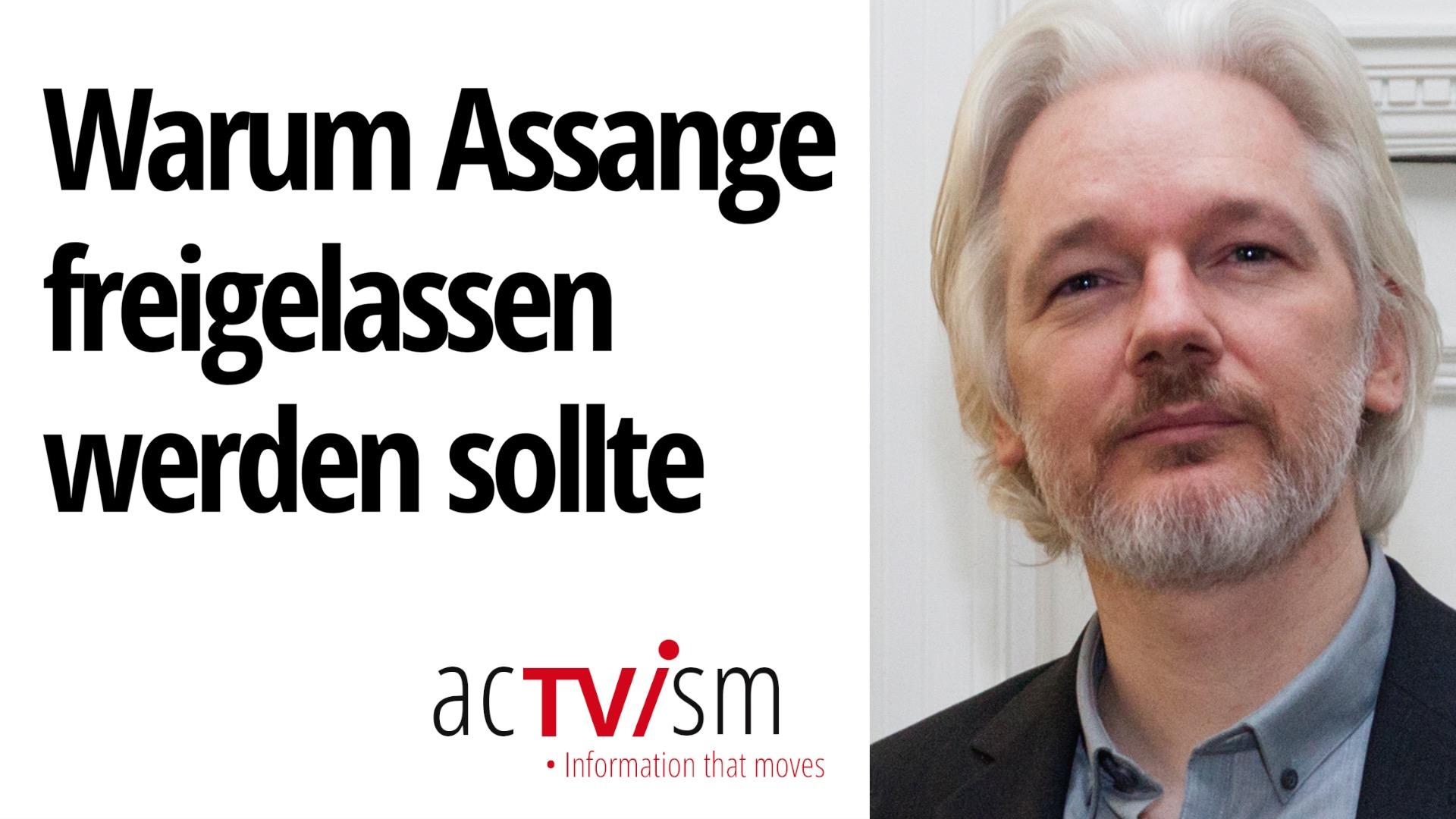 Warum Julian Assange jetzt freigelassen werden sollte | National Union of Journalists