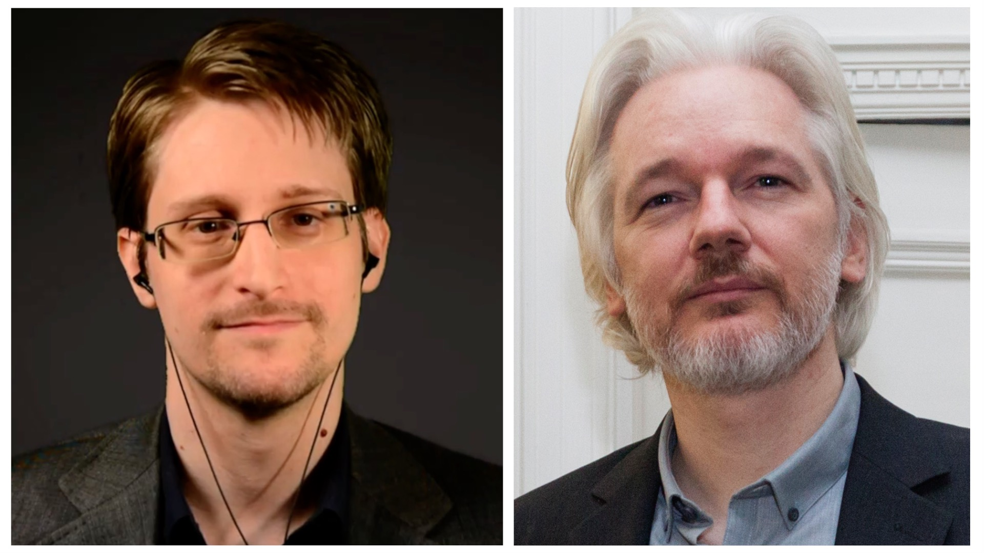 Edward Snowden Snowdens & Julian Assange's warning about the Security and Surveillance Industrial Complex