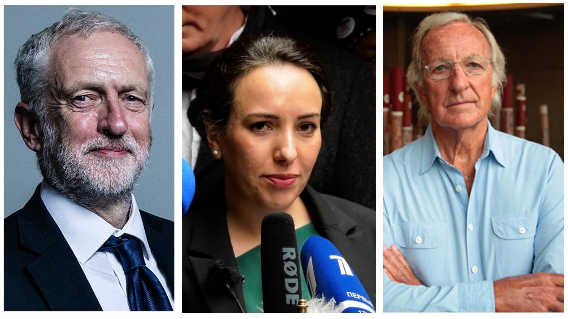 Corbyn , John Pilger & Stella Moris speak out for Julian Assange
