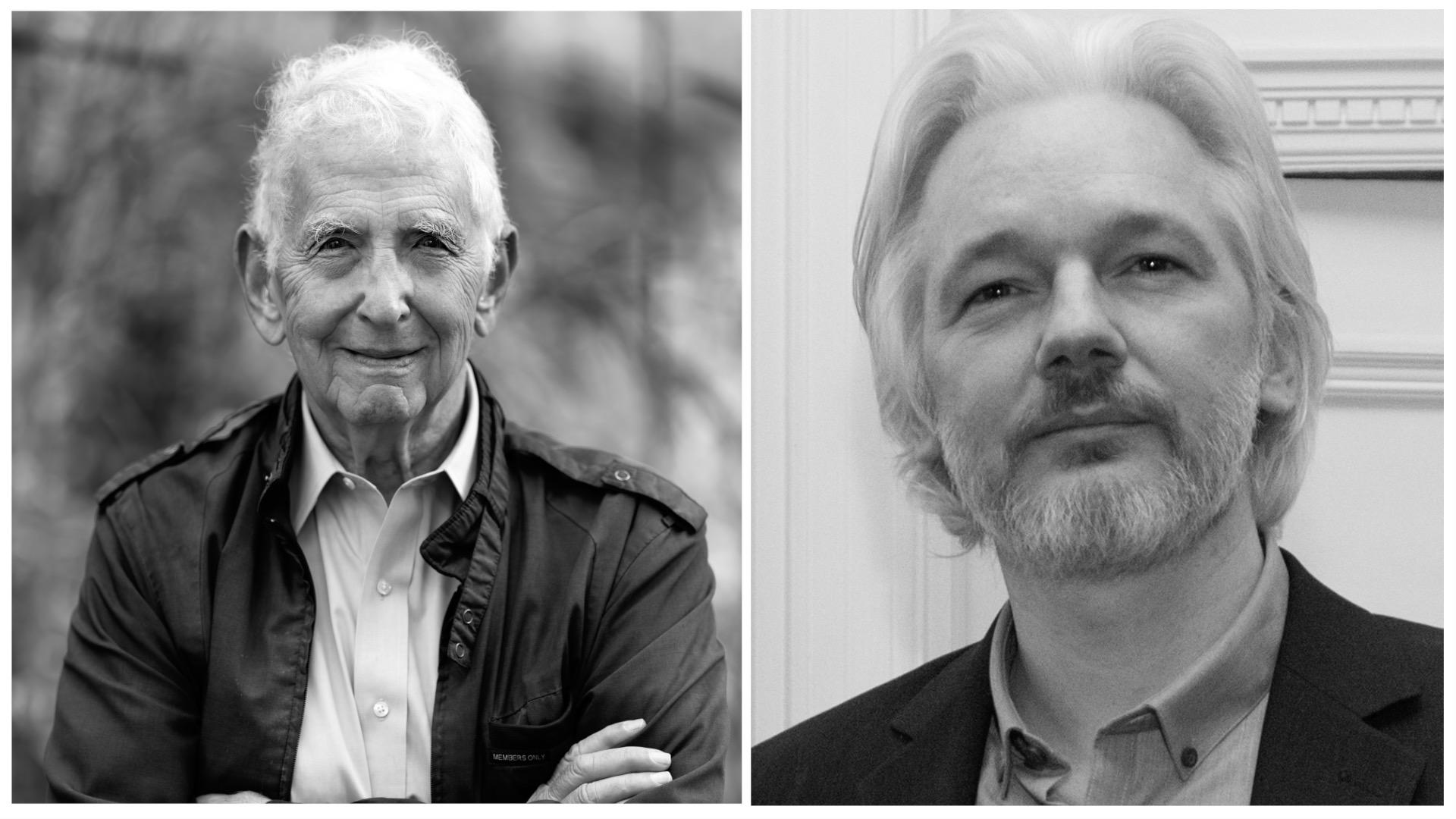 Former Insider & Legendary Whistelblower Daniel Ellsberg speaks out for Julian Assange